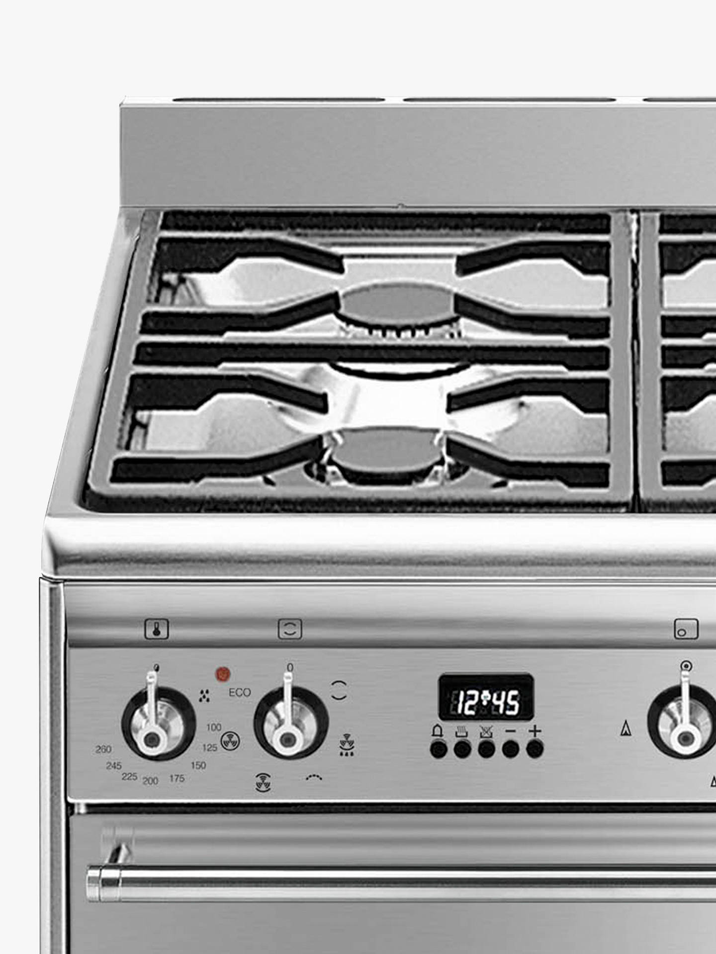 Buy Smeg SUK61MX9 Multifunctional Dual Fuel Cooker, Stainless Steel Online at johnlewis.com