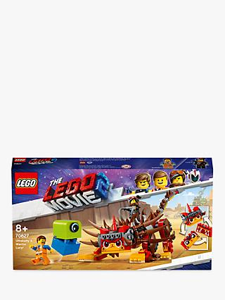 LEGO THE LEGO MOVIE 2 70827 Ultrakatty & Warrior Lucy Construction Toys with Minifigures