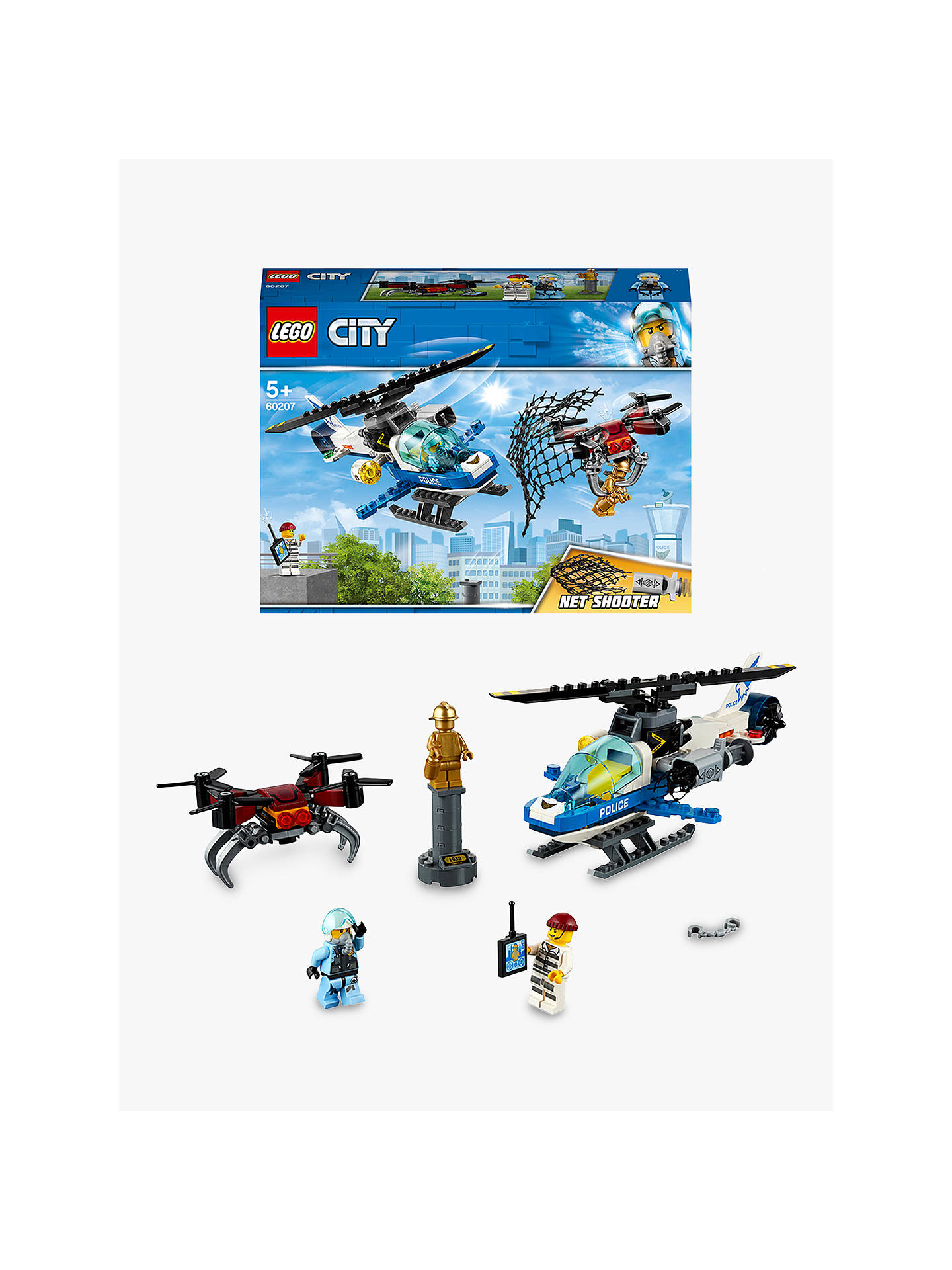 Lego City 60207 Sky Police Drone Chase At John Lewis Partners