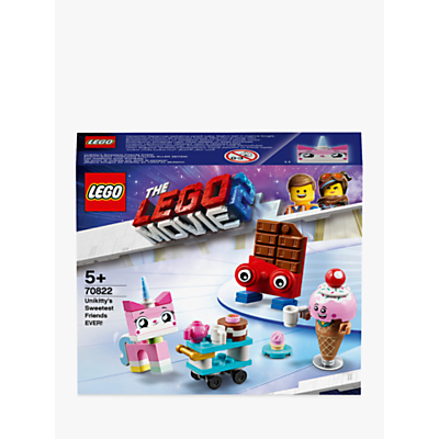 LEGO THE LEGO MOVIE 2 Playtime 70822 Unikittys Sweetest Friends EVER!