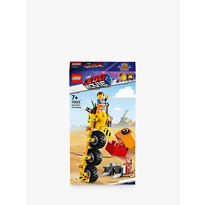 LEGO THE LEGO MOVIE 2 Playtime 70823 Emmet's Thricycle