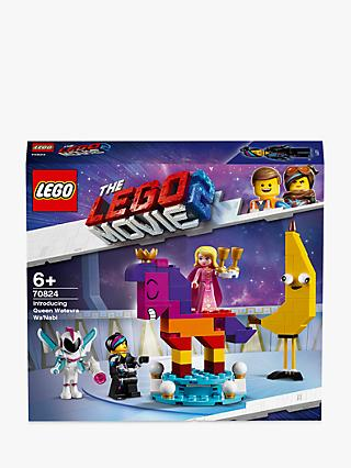 LEGO THE LEGO MOVIE 2 70824 Introducing Queen Watevra Wa'Nabi Construction Toys with Minifigures