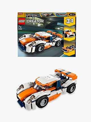 LEGO Creator 31089 3 in 1 Sunset Track Racer