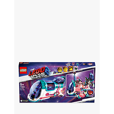 LEGO THE LEGO MOVIE 2 70828 Pop Up Party Bus Adventure Bus Toys With Minifigures