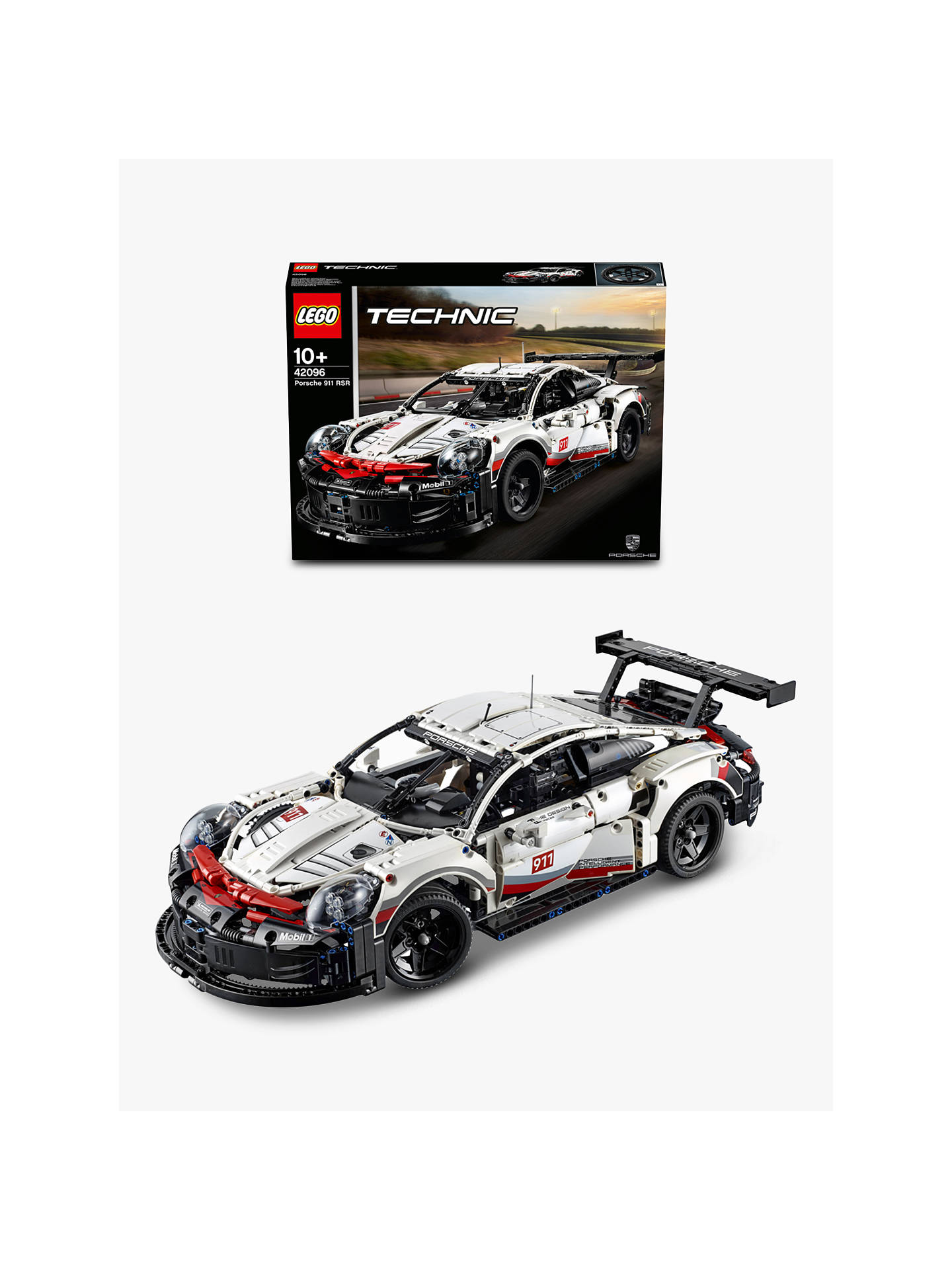 lego technic 42096 collectable car models porsche 911 rsr. Black Bedroom Furniture Sets. Home Design Ideas