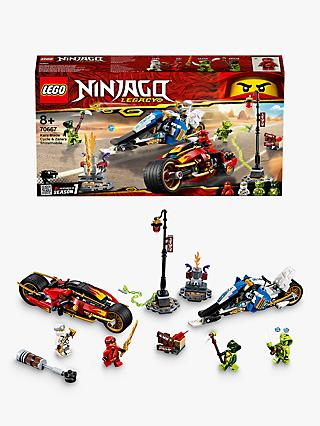 LEGO Ninjago 70667 Kai's Blade Cycle and Zane's Snowmobile