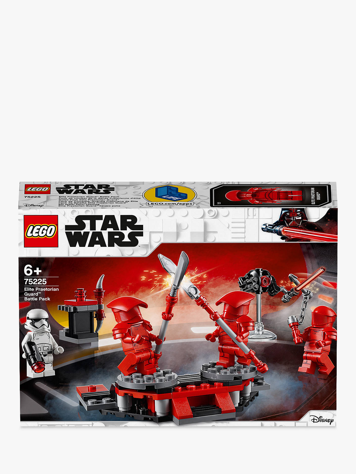 fb8ed6a71b Buy LEGO Star Wars 75225 Elite Praetorian Guard Battle Pack Online at  johnlewis.com ...