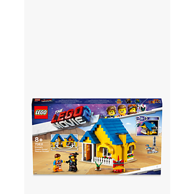 Image of LEGO THE LEGO MOVIE 2 Playtime 70831 LEGO 2 in1 Emmet's Dream House/Rescue Rocket