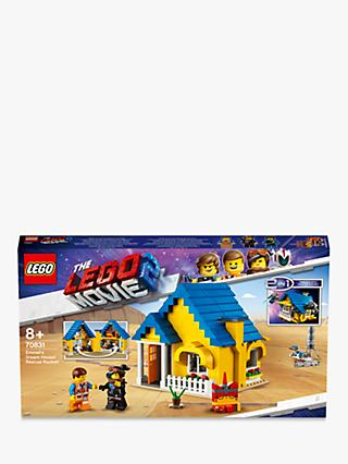 LEGO THE LEGO MOVIE 2 Playtime 70831 LEGO 2 in1 Emmet's Dream House/Rescue Rocket