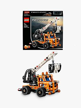 LEGO 2in1 Technic 42088 Cherry Picker Model Constructon Truck Toys