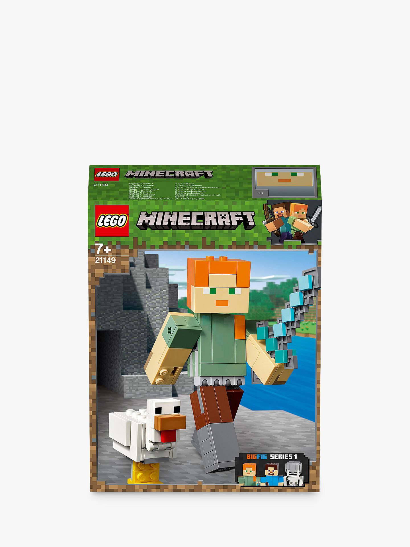 18f98e330ba3 LEGO Minecraft 21149 Alex   Chicken at John Lewis   Partners