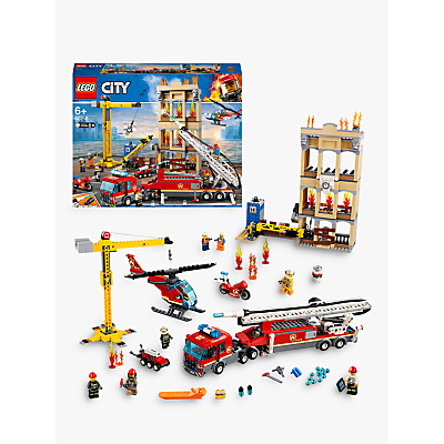 Image of LEGO City 60216 Downtown Fire Brigade