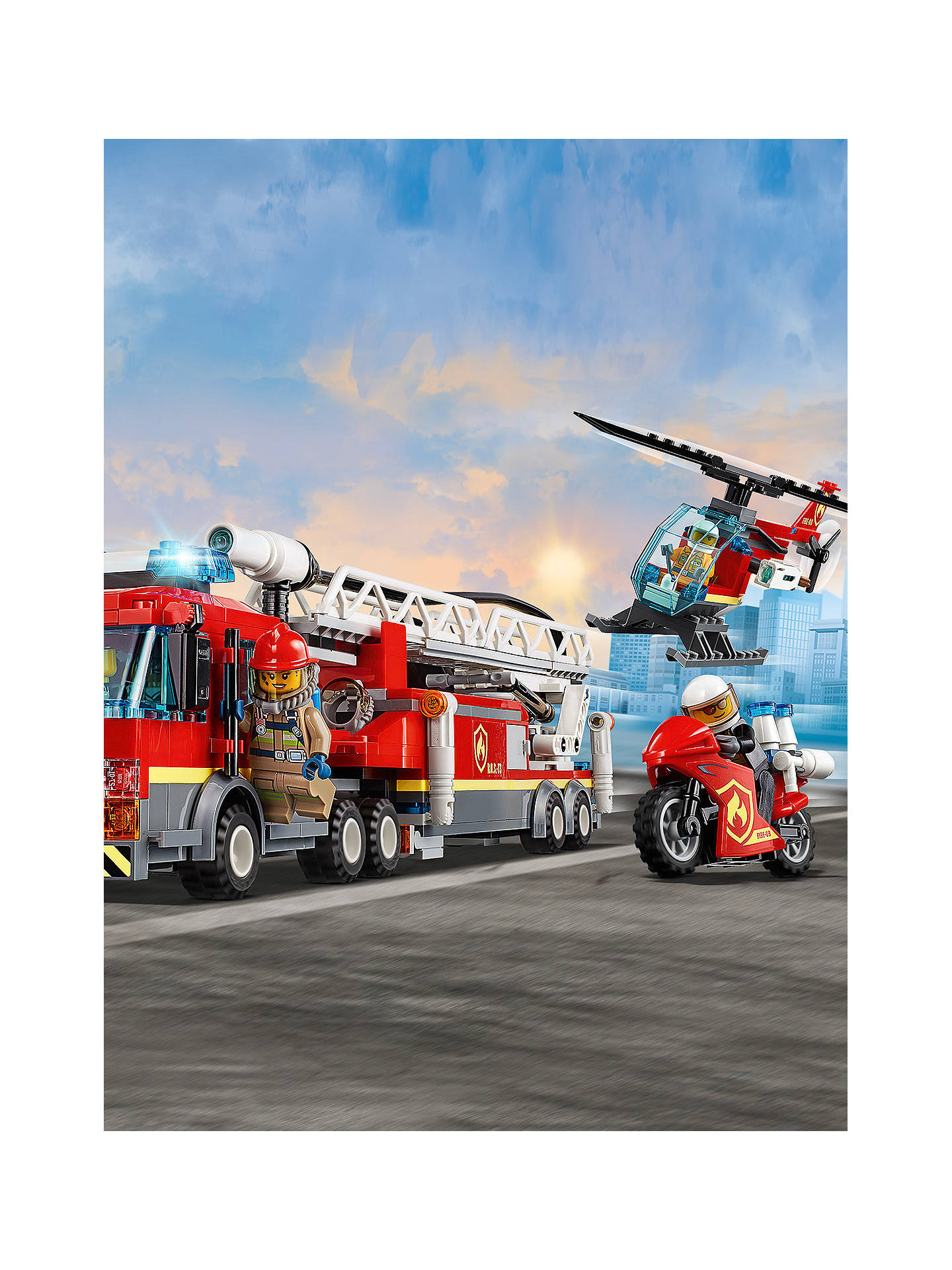 LEGO City 60216 Downtown Fire Brigade at John Lewis & Partners