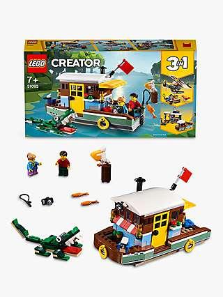 LEGO Creator 31093 3 in 1 Riverside Houseboat