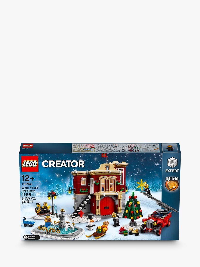 Buy LEGO Creator 10263 Winter Village Fire Station Online at johnlewis.com