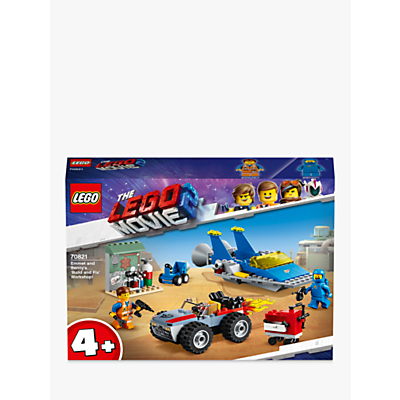 LEGO THE LEGO MOVIE 2 70821 Emmet and Benny's