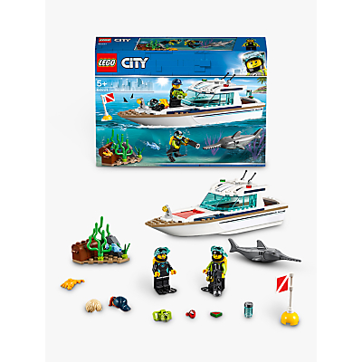 Image of LEGO City 60221 Diving Yacht