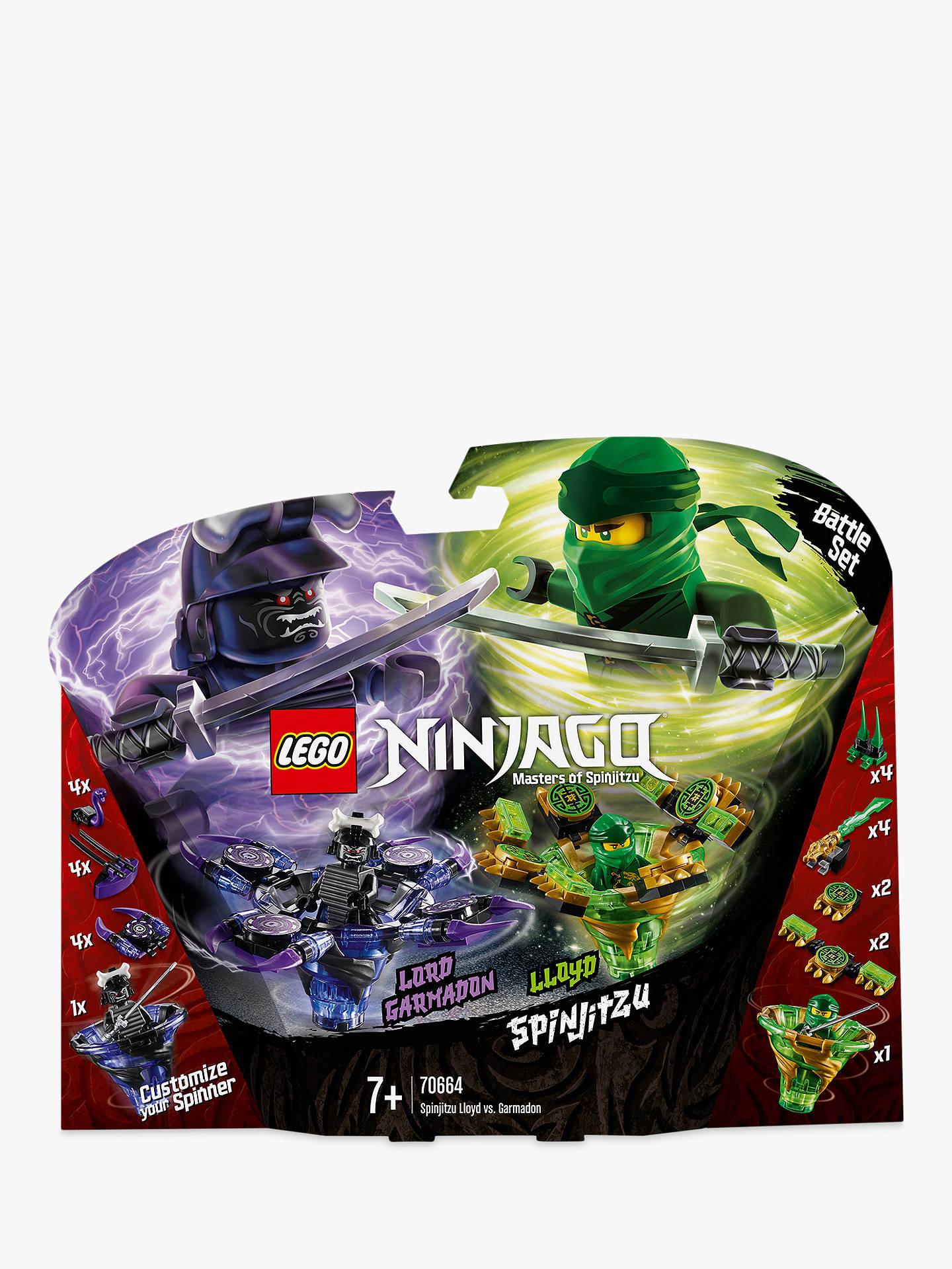 super quality online retailer footwear LEGO Ninjago 70664 Spinjitzu Lloyd Vs. Garmadon