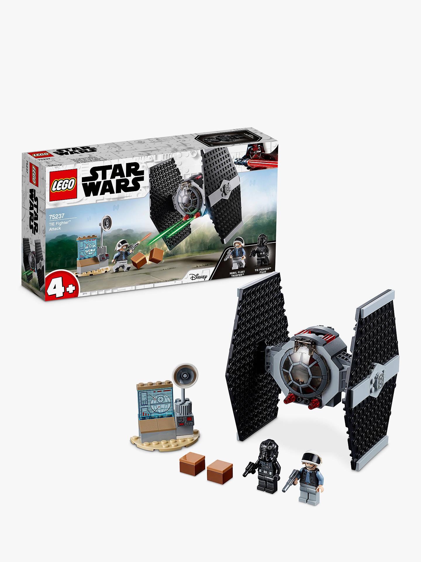 ba3487b72 Buy LEGO Star Wars 75237 TIE Fighter Attack Online at johnlewis.com ...
