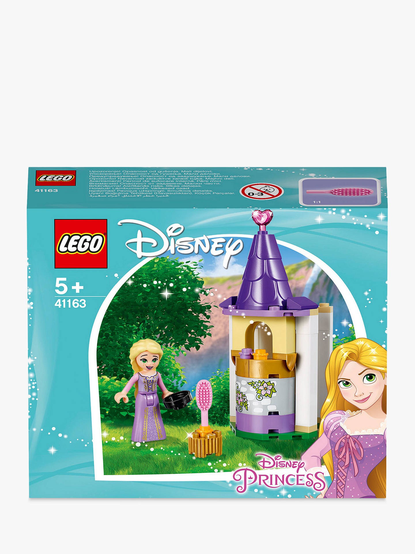fe6c47f894 Buy LEGO Disney Princess 41163 Rapunzel's Tower Online at johnlewis. ...