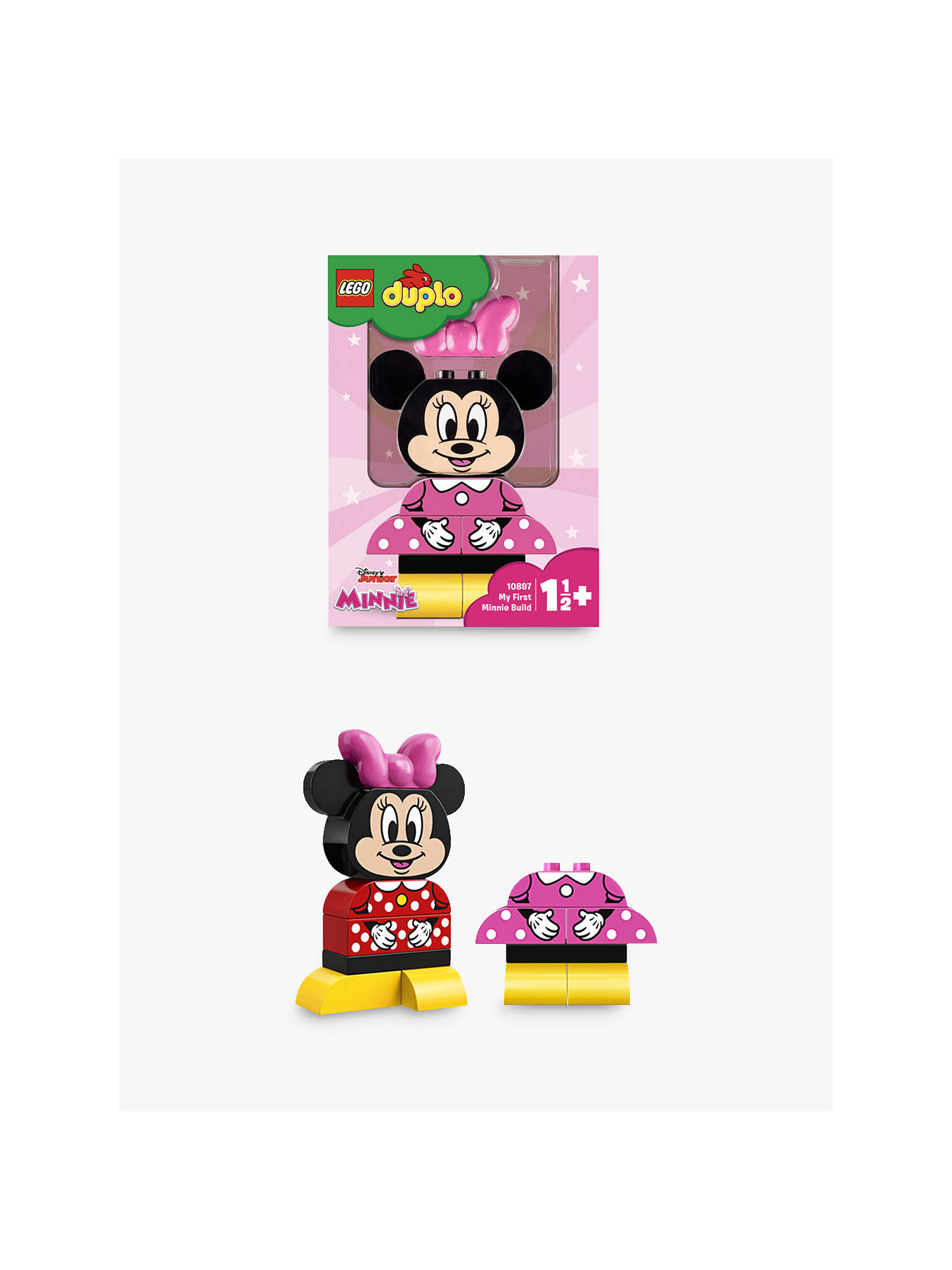 Lego Duplo 10897 My First Minnie Build Minnie Mouse Toy For 1 2 Yrs