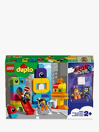LEGO DUPLO THE LEGO MOVIE 2 10895  Emmet and Lucy's Visitors