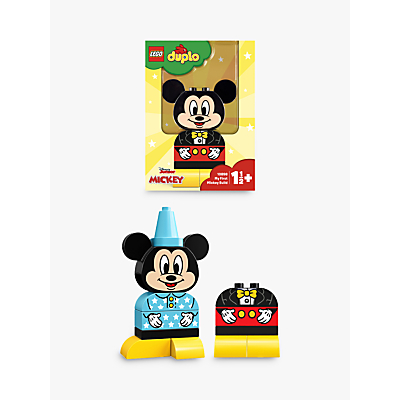 LEGO DUPLO 10898 My First Mickey Build, Mickey Mouse Toy For 1 2 Yrs