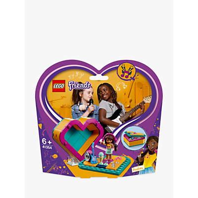 LEGO Friends 41354 Andrea's Heart Box Doll Playset Toy Storage