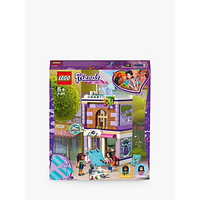 LEGO Friends 41365 Emma's Art Studio Doll House Construction Toy