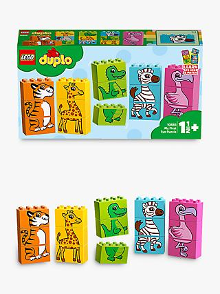LEGO DUPLO 10885 My First Fun Puzzle, Animal Toys For 1-2 yrs