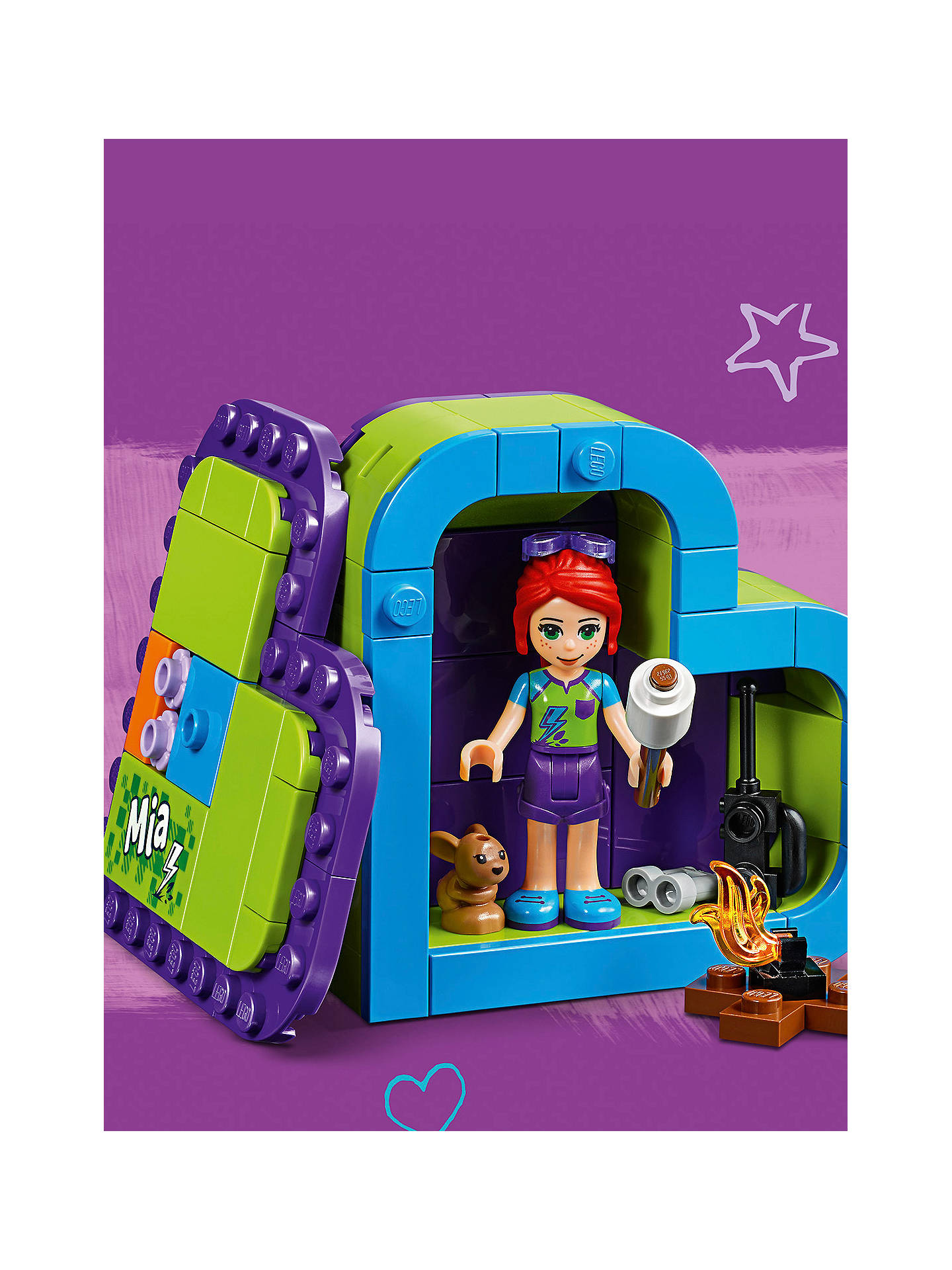 Lego Friends 41358 Mias Heart Box At John Lewis Partners
