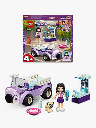 LEGO Friends 41360 Emma's Mobile Vet Clinic Animal Toys Doll Playset