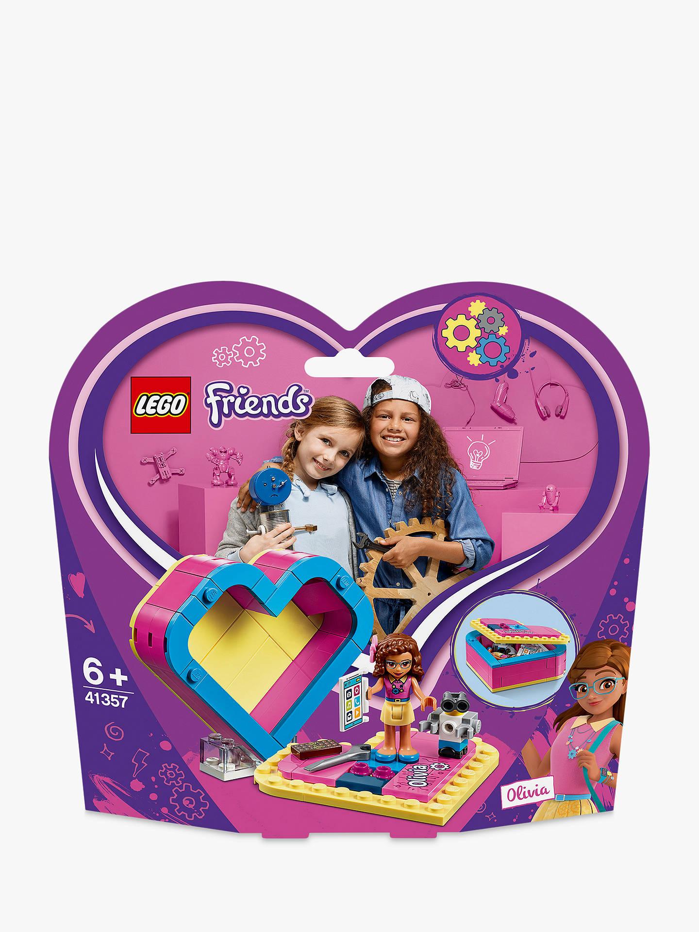Lego Friends 41357 Olivia S Heart Box At John Lewis Amp Partners