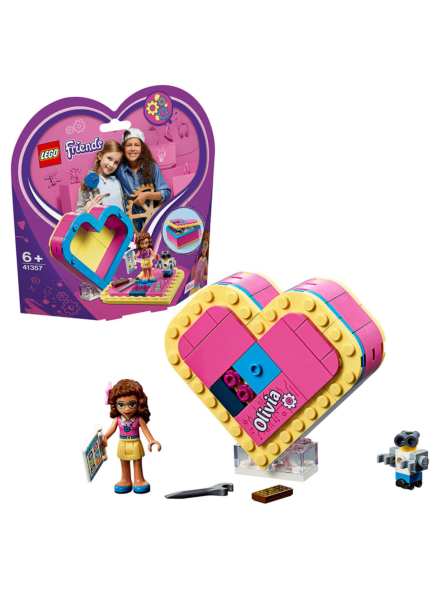 Lego 41357 FRIENDS Olivia/'s Heart Box