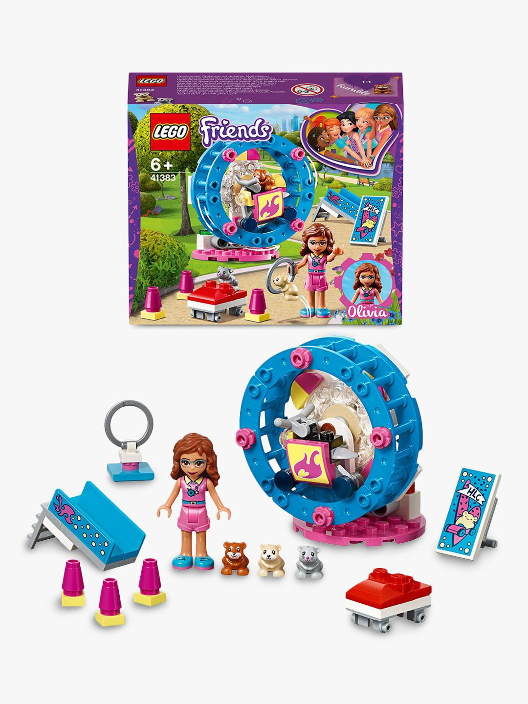 LEGO Friends 41383 Olivia's Hamster Playground