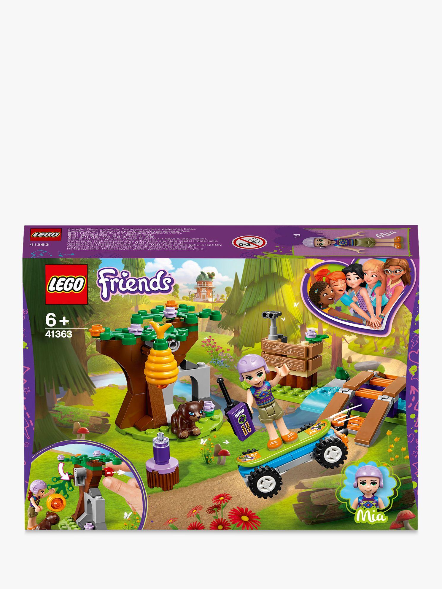Lego FRIENDS-41363 Mia's Forest Adventure NEW