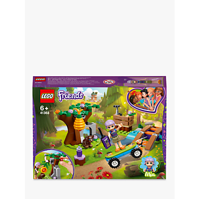 LEGO Friends 41363 Mias Forest Adventure