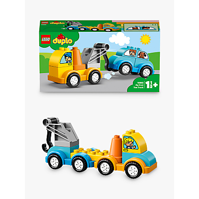 LEGO DUPLO 10883 My First Tow Truck For Toddlers, Educational Toys For 1 2 Yrs