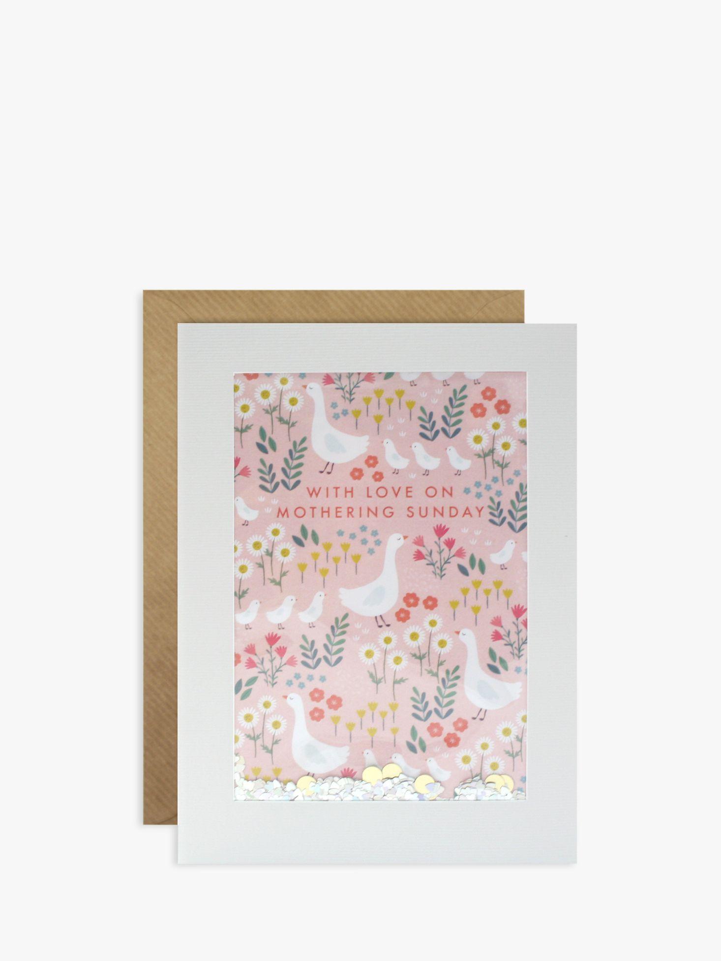 James Ellis Stevens James Ellis Stevens Mum Geese Glitter Mother's Day Card