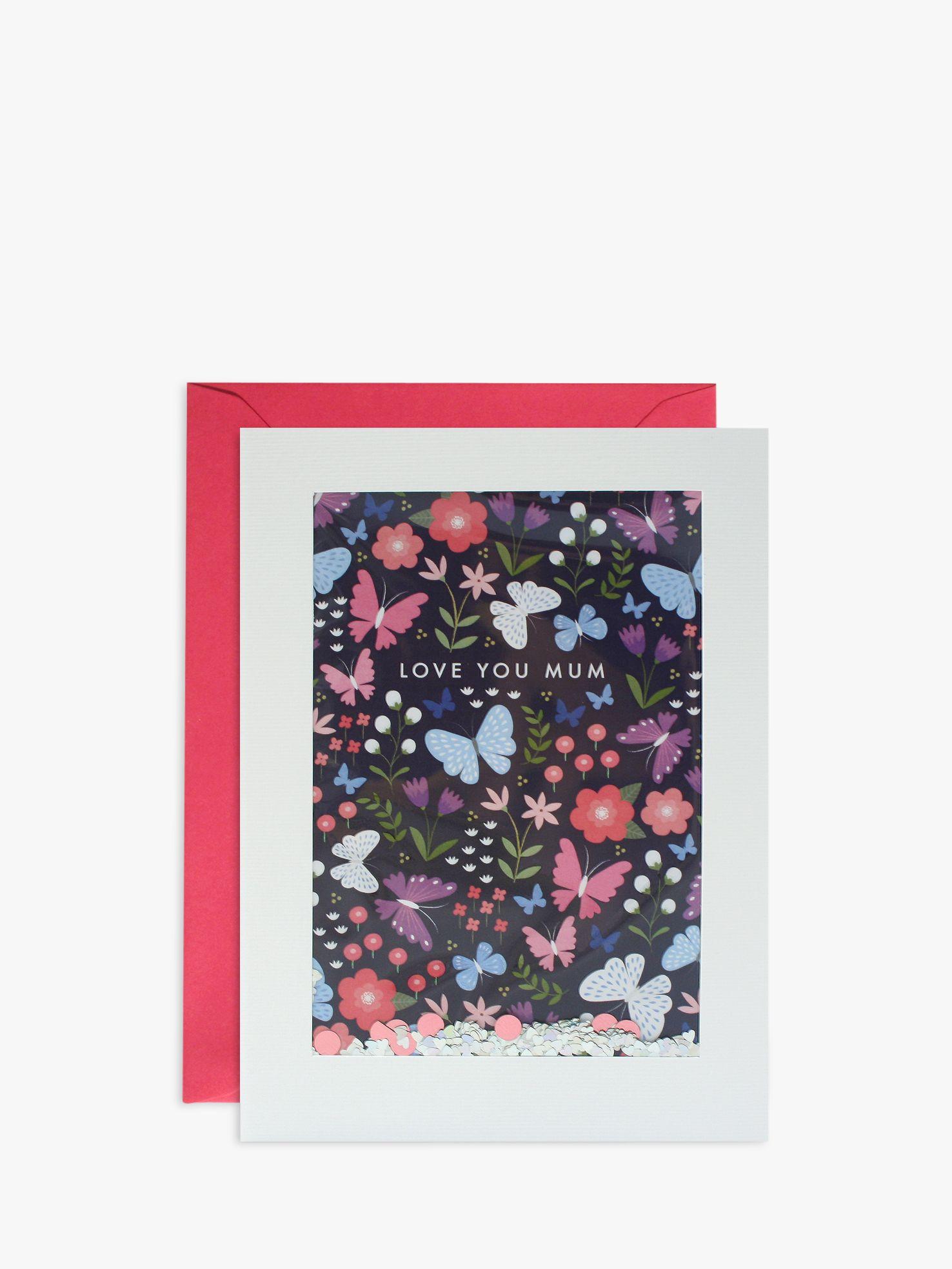 James Ellis Stevens James Ellis Stevens Butterfly Glitter Mother's Day Card