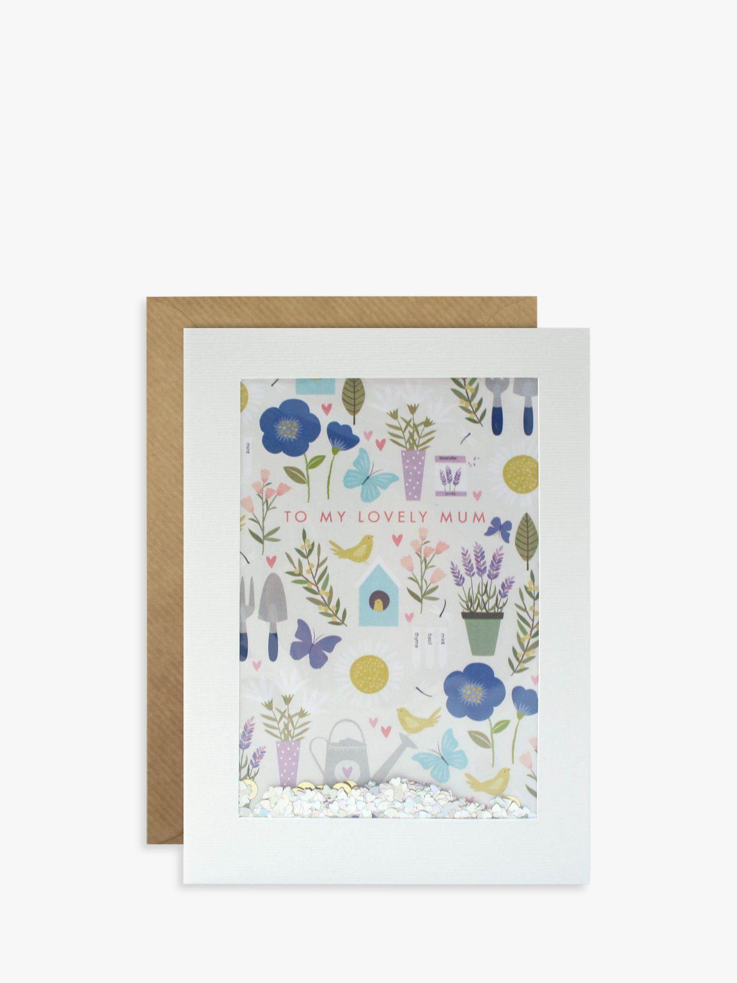James Ellis Stevens James Ellis Stevens Gardening Glitter Mother's Day Card