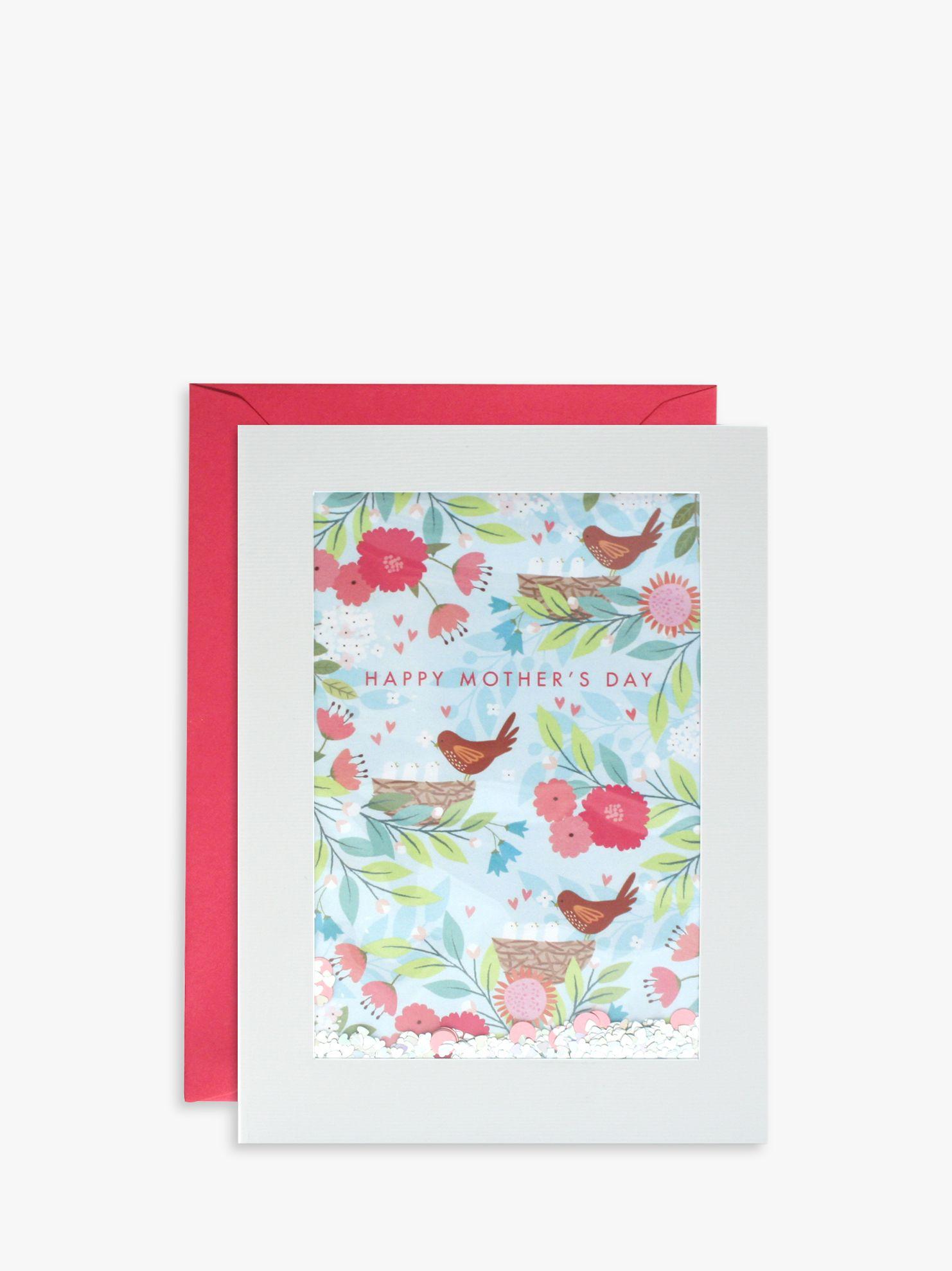 James Ellis Stevens James Ellis Stevens Bird Nest Glitter Mother's Day Card