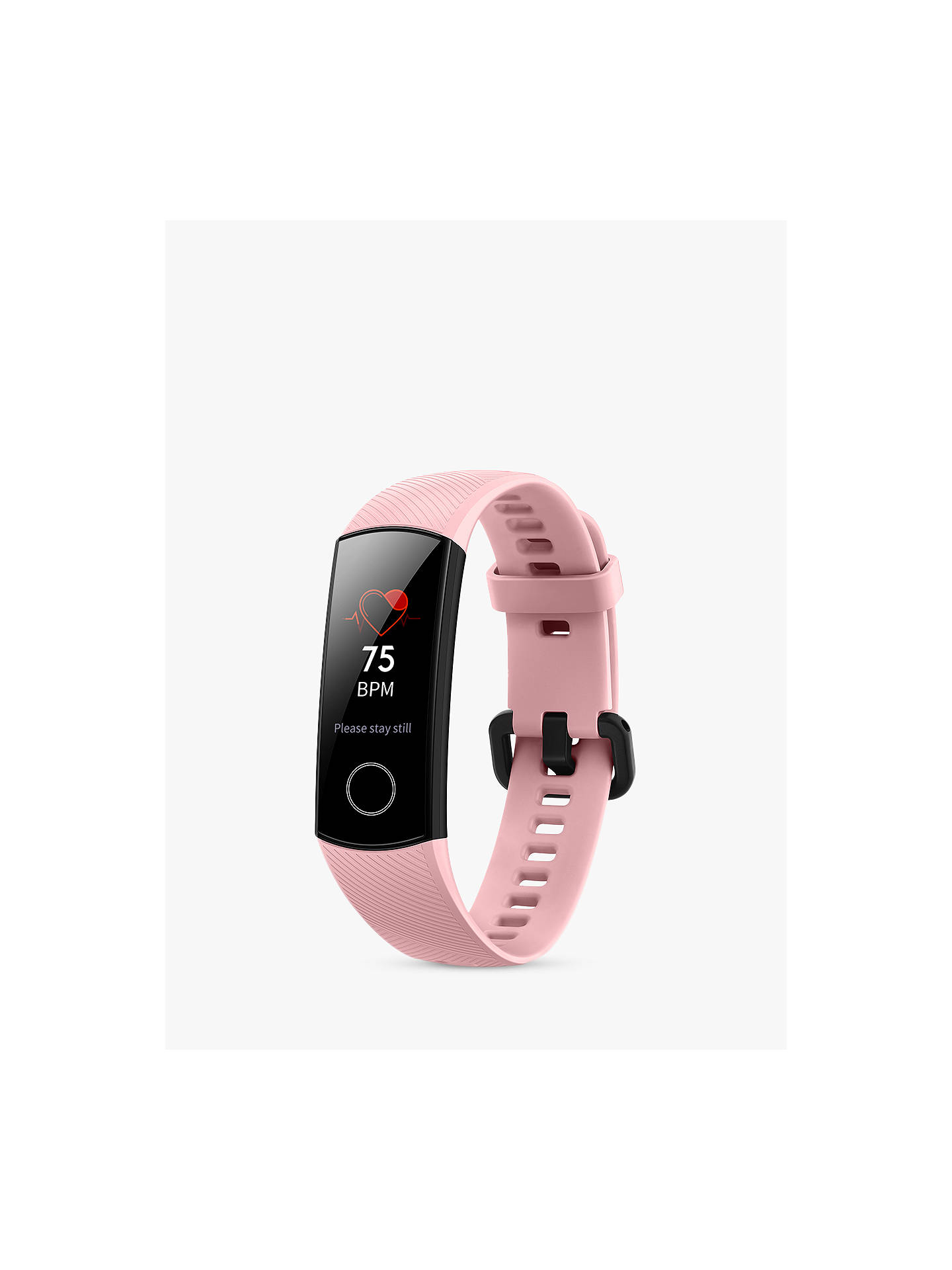 Buy Honor Band 4, Fitness Band with HR Monitoring, Coral Pink Online at johnlewis.com