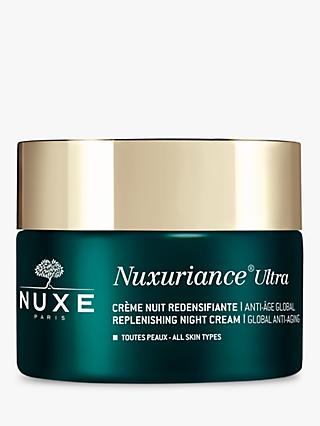 NUXE Nuxuriance Ultra Replenishing Anti-Ageing Night Cream, 50ml