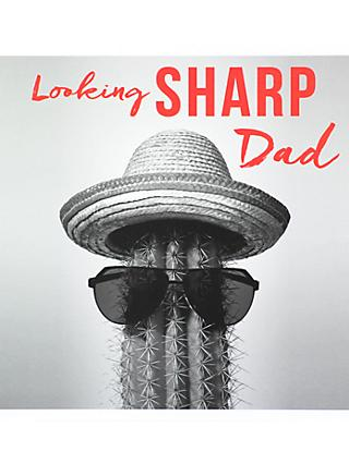 Paperlink Looking Sharp Father's Day Card
