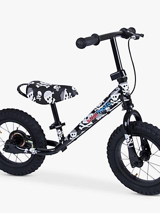 Kiddimoto Super Junior Max Skulls Balance Bike