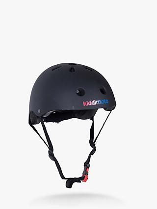 Kiddimoto Matte Black Helmet, Small