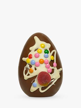 Stas Chocolatier Milk Chocolate Easter Egg with Sweets, 125g