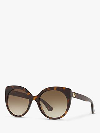 Gucci GG0325S Women's Cat's Eye Sunglasses