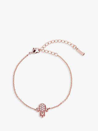acfd5aa1af84 Ted Baker Hersha Swarovski Crystal Hidden Heart Hand Bracelet